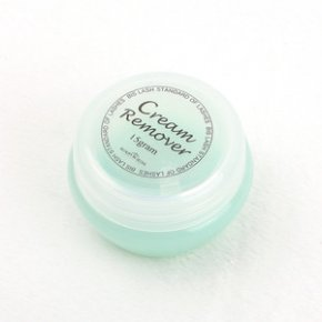 Bislash cream remover