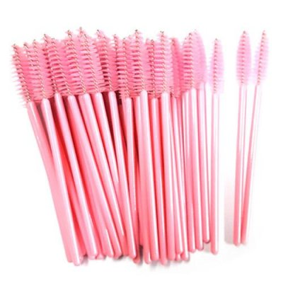 mascara brush light pink
