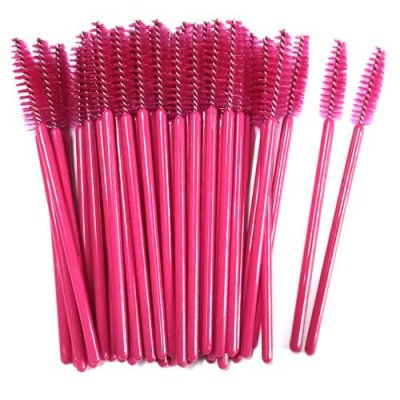 mascara brush pink